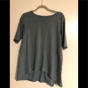 Madewell High aloe Tunic Shirt